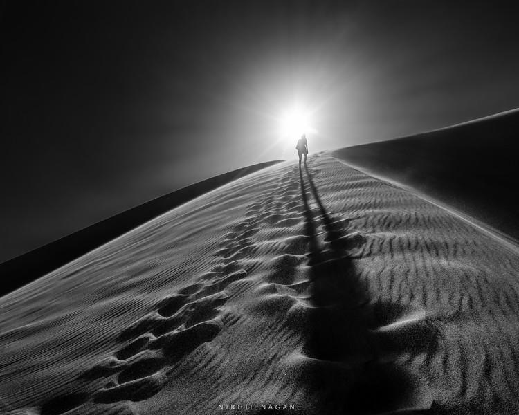 Hiking the sand dunes #1