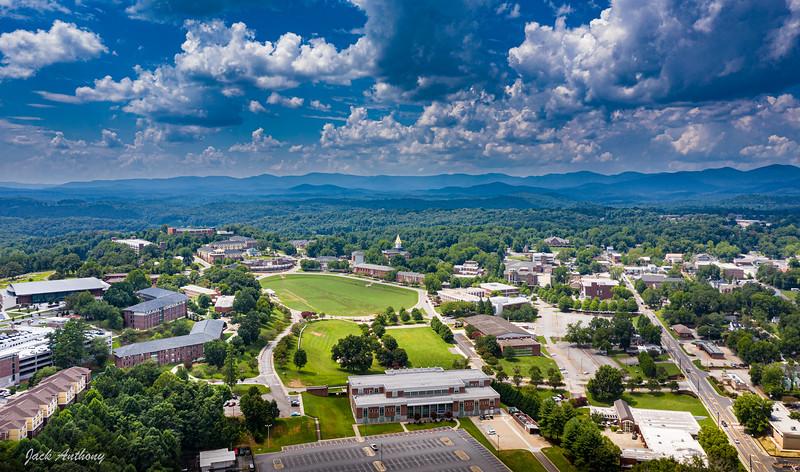 University of North Georgia and Downtown Dahlonega