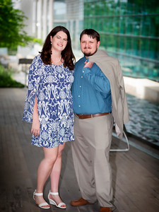 Courtney & Caleb Engagement and Courthouse