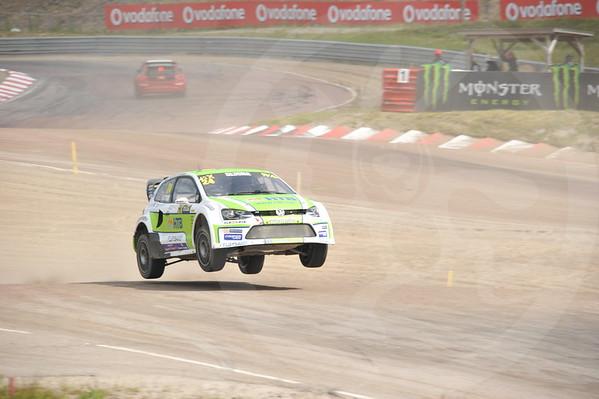 Tomy Rustad VM rallycross Høljes