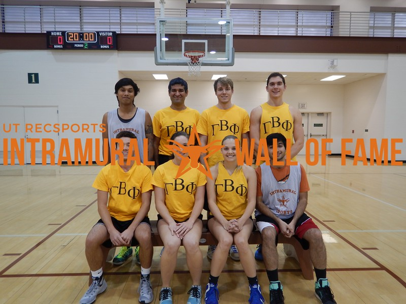 Fall 2016 Basketball Coed B Champ_Gamma Beta Phi
