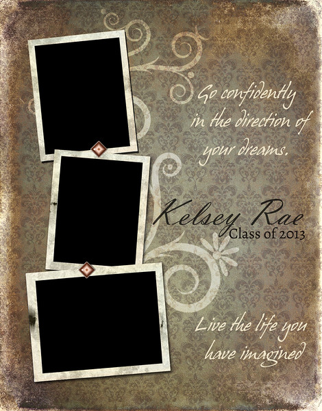 Shabby Chic - Full Page Template