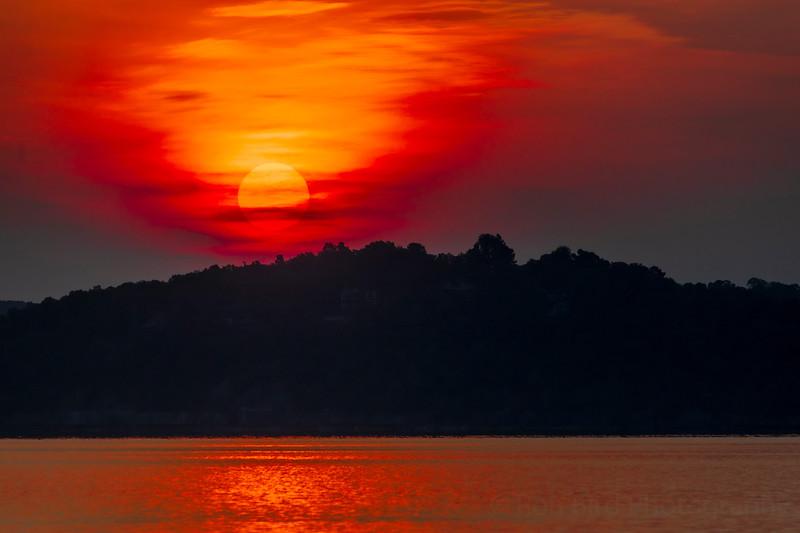 7.31.21 - RiverCliff sunrise this am.