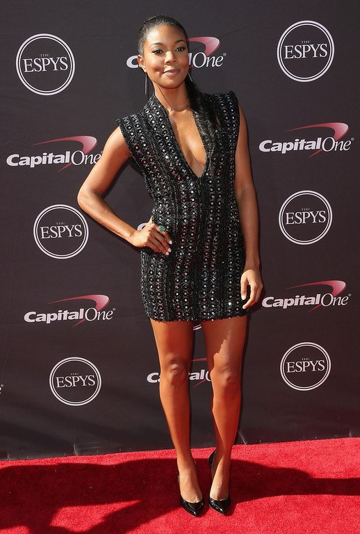 . Actress Gabrielle Union  attend The 2013 ESPY Awards at Nokia Theatre L.A. Live on July 17, 2013 in Los Angeles, California.  (Photo by Frederick M. Brown/Getty Images)