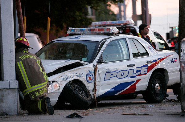 July 20, 2009 - PD-Involved MVC - Queen St W / Beaty Ave