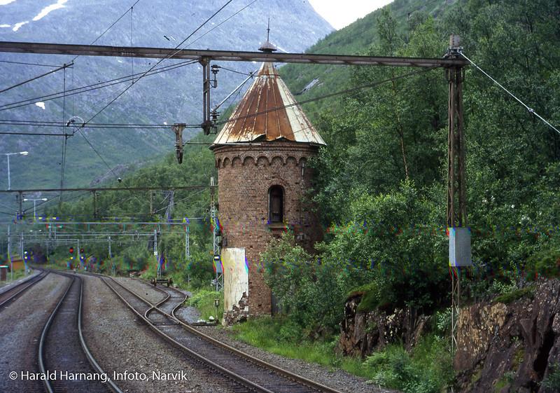 Km 20,86 Rombak Stasjon Vanntårnet