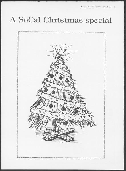 Daily Trojan, Vol. 100, No. 64, December 10, 1985