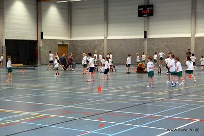 20140205 SVS Schoolsport trefbal 2e graad