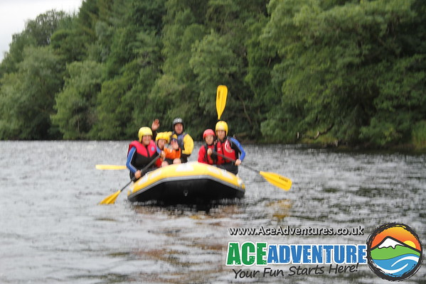 24th August 2013 - AM River Tay White Water Rafting