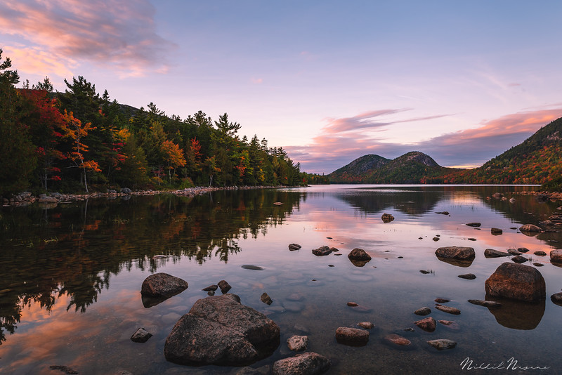 Jordan Pond in Acadia NP