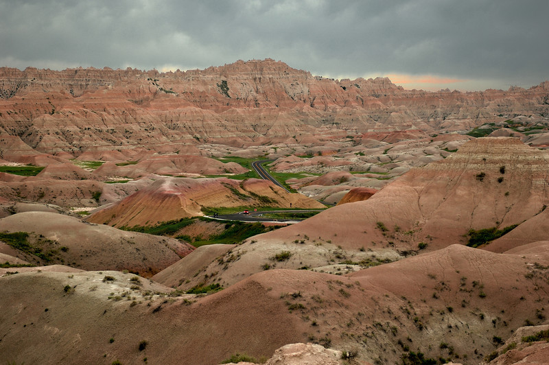 The Badlands , SD