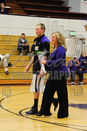 Senior Night - Marshfield High - Feb 12, 2010