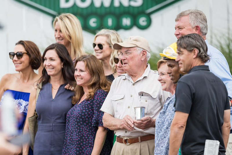 Connections of Woodford Racing at Ky Downs 9.08.18.