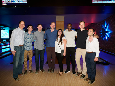 Ortho Intern Welcome Party - Lucky Strike Bowling, L.A. Live