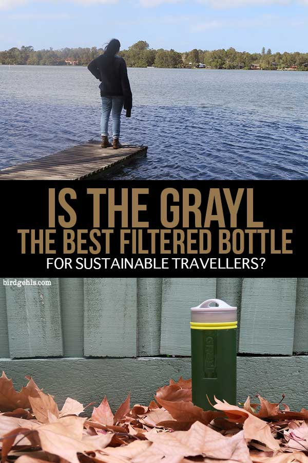Looking for the perfect filtered water bottle? The #GRAYL Ultralight Purifier is lightweight, easy to use and eliminates 99.9999% of viruses, bacteria and cysts, making it the ideal companion for any traveller. / #SustainbleTravel / Travel Tips / Travel Water Bottles /