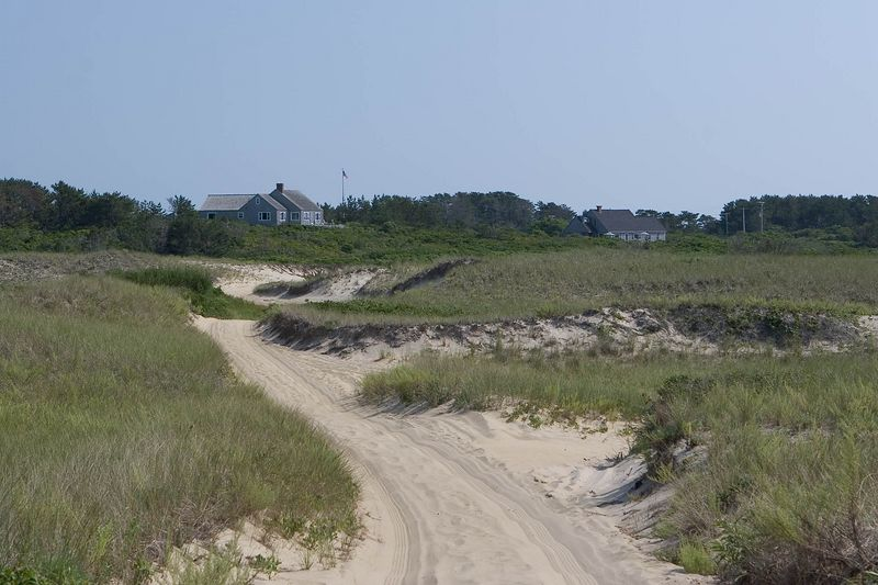 Road from Eel Point Beach