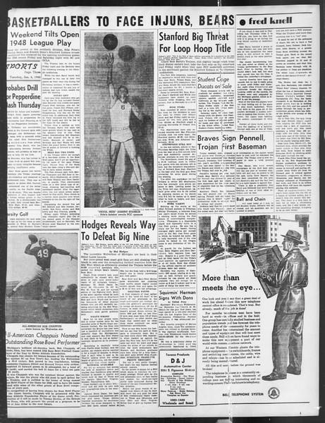 Daily Trojan, Vol. 39, No. 69, January 06, 1948