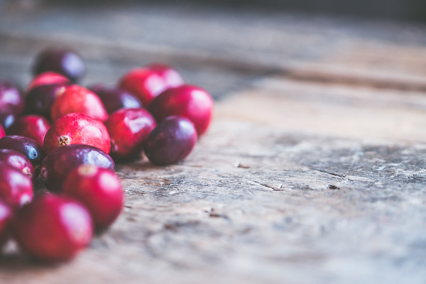Christmas, Cranberries &  Pine Cones