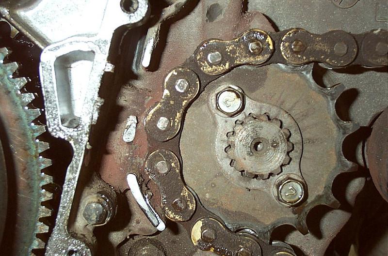 KLR 650, cut metal