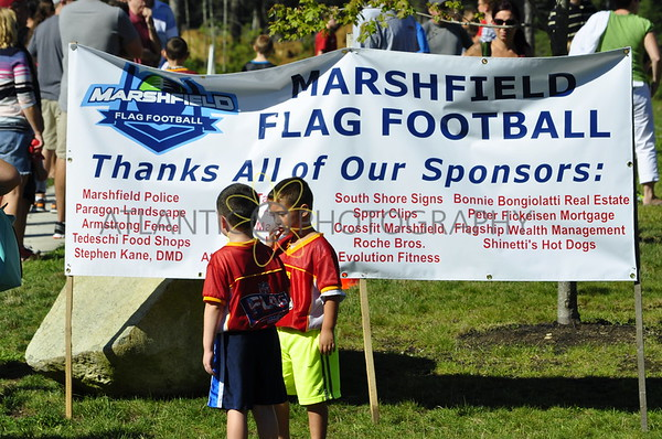 9.14 Marshfield Flag Football Opening Day 2014