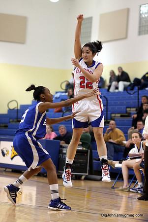 Riverside vs Eastside girls Basketball 12-29-11
