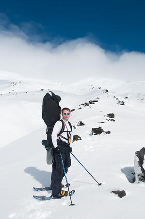 2010-2-27  Climbing Mt St Helens
