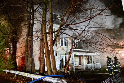 Ossining, Structure Fire, North Highland Ave