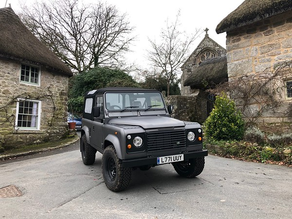Satin Gray 90 Soft Top - Stealth