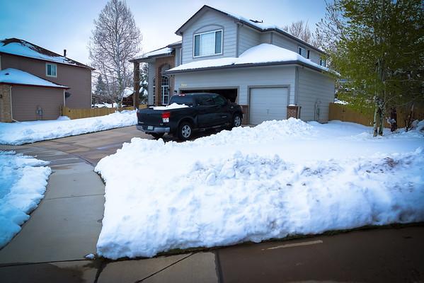 Spring Snowstorm 2016