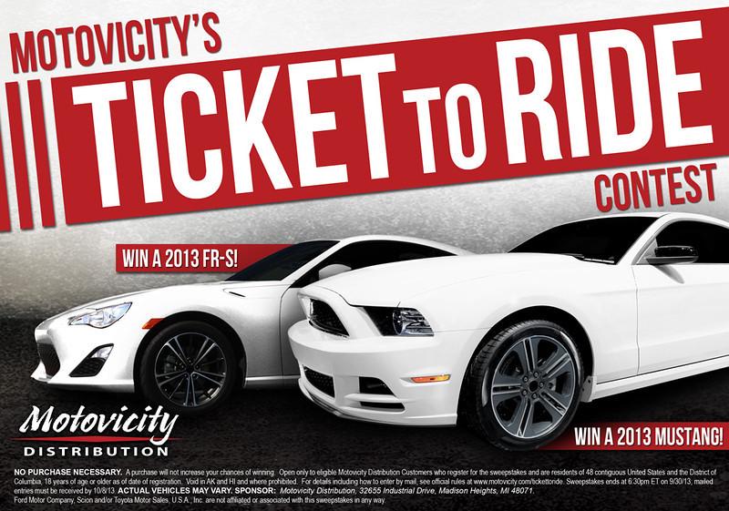 motovicity ticket to ride contest