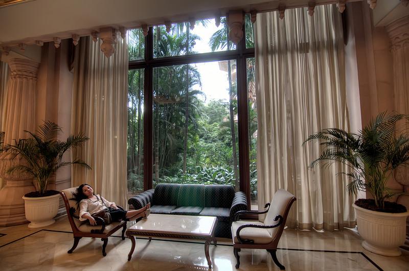 Elegant Relaxation-Leela Palace Hotel-Bangalore India