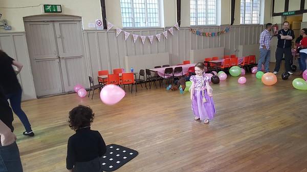 Amelie's birthday party