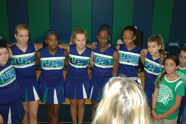 Middle School Pep Rally