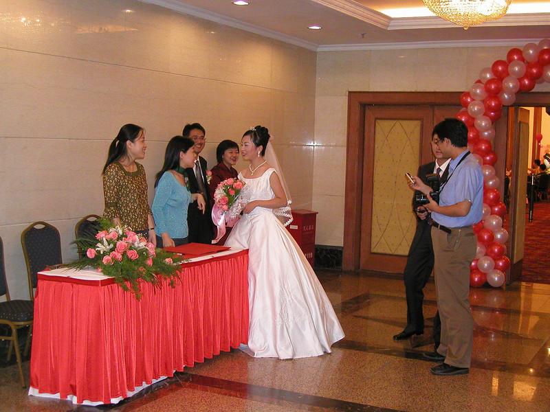 Shangahi wedding reception