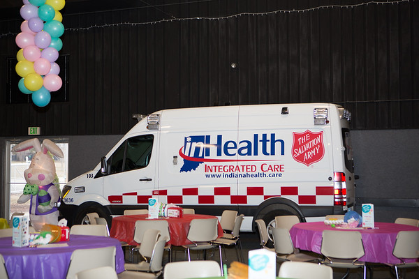 inHealth - Porter EMS - Salvation Army Breakfast with the Easter Bunny Event