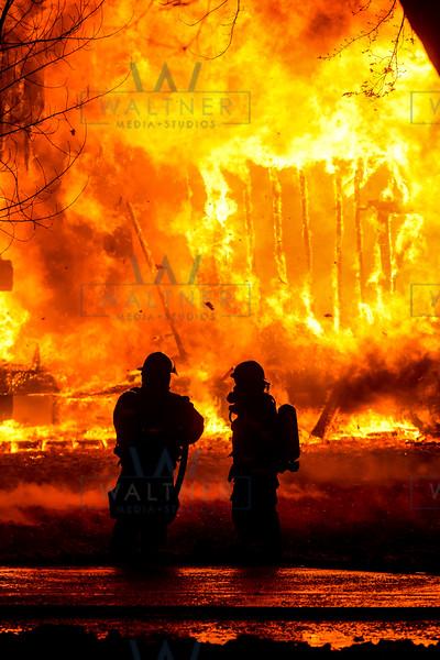 FVFD battles Nov. 29 house fire