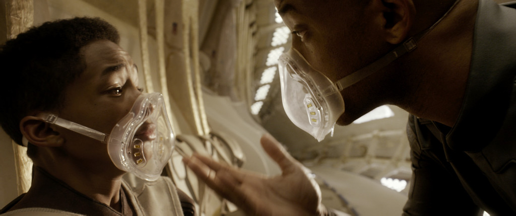 """. Jaden Smith, left, and WIll Smith star in Columbia Pictures\' \""""After Earth.\"""" Courtesy of Columbia Pictures."""