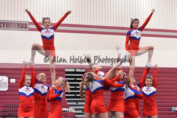 Competitive Cheer at Eaton Rapids