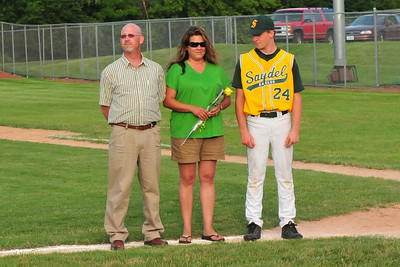 Senior Night Baseball 2009
