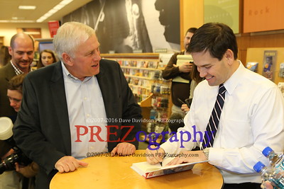 Marco Rubio West Des Moines Booksigning