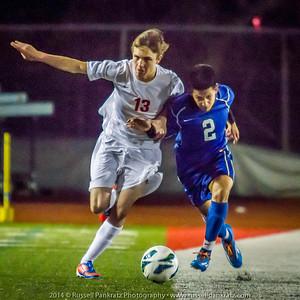 2/4/2014 Chaps Boys Varsity Soccer vs. Anderson