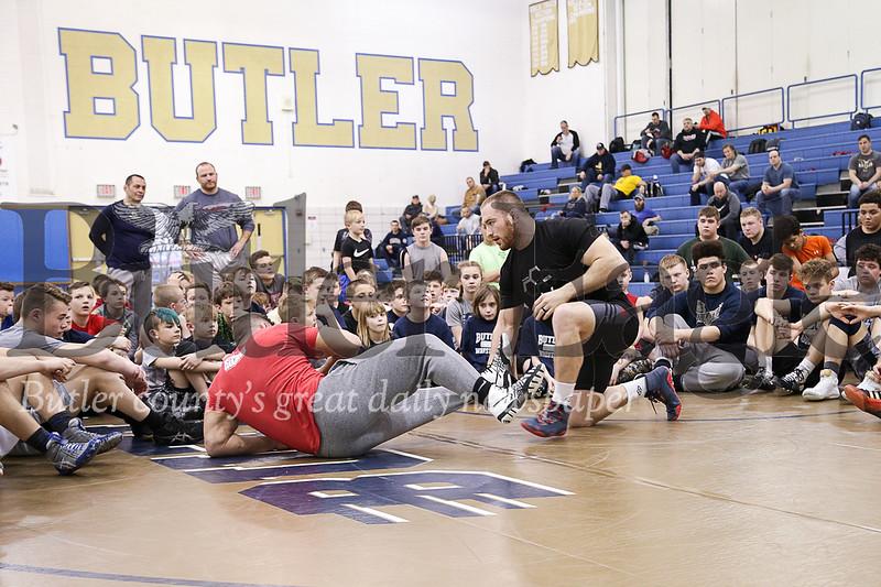 Kyle Snyder Olympian at Butler GT Wrestling