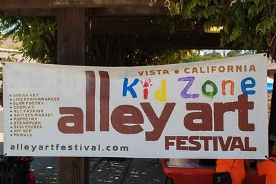 Vista Art Alley Festival