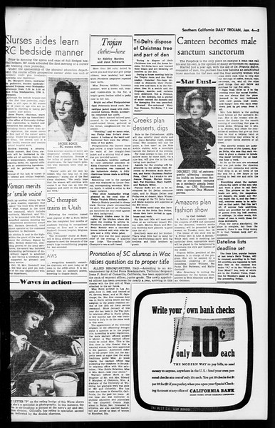 Daily Trojan, Vol. 36, No. 39, January 04, 1945