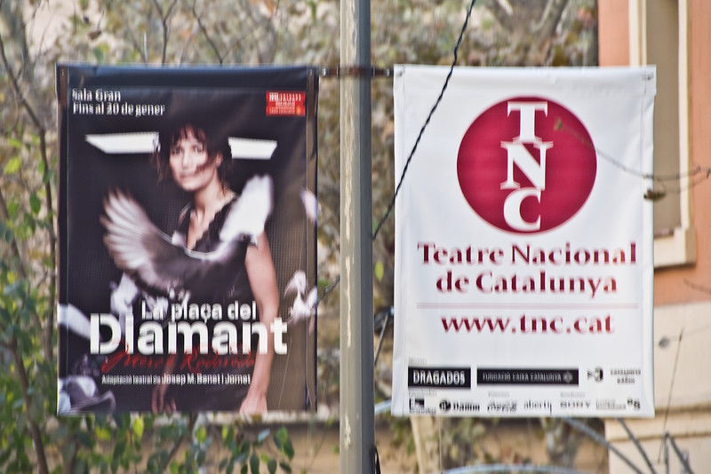 Street signs in Barcelona. (Dec 14, 2007, 11:24am)