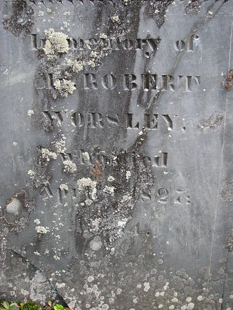 Robert Worsley Grave