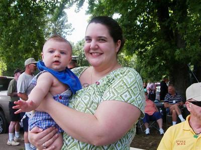 Janet Wheatley & baby