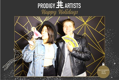 Prodigy Artist Holiday Party 12/12/19