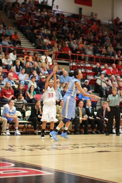 GWU Womens Basketball Vs. UNC Chapel Hill
