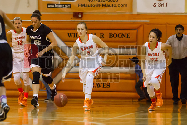 Boone Girls Varsity Basketball #5 - 2015